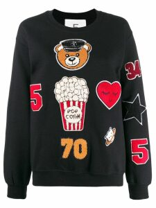 5 Progress appliqué patch sweatshirt - Black