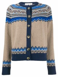 Golden Goose chunky knit cardigan - NEUTRALS