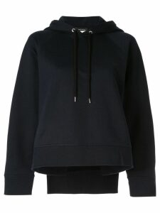 Cédric Charlier basic hoodie - Blue