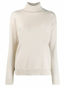 Brunello Cucinelli turtleneck sweater - Neutrals