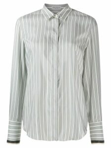 Brunello Cucinelli striped shirt - Grey