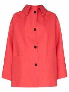 Kassl Editions rubber shirt jacket - Red