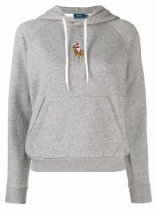 Polo Ralph Lauren logo hoody - Grey