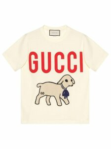 Gucci Gucci lamb T-shirt - White
