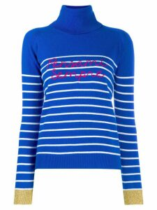 Giada Benincasa turtle neck jumper - Blue