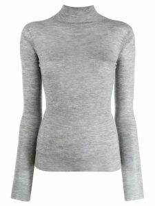 Joseph cashmere turtle neck top - Grey