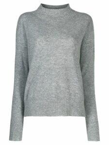Twin-Set slim fit jumper - Grey