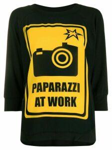 Ultràchic Paparazzi at Work T-shirt - Black