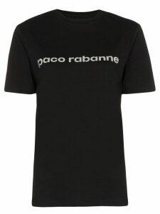 Paco Rabanne logo print T-shirt - Black
