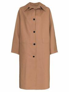 Kassl oversized coat - Neutrals