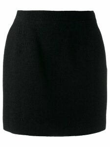 Alessandra Rich fitted mini skirt - Black