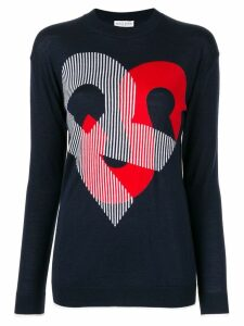 Sonia Rykiel 'RS' knitted top - Blue