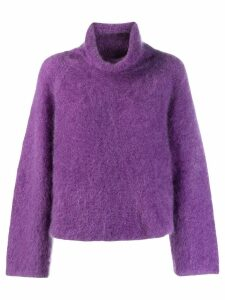 Fabiana Filippi roll-neck sweater - PURPLE