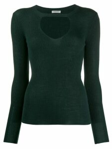 P.A.R.O.S.H. key-hole detail sweater - Green