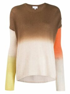 Lala Berlin gradient effect jumper - NEUTRALS