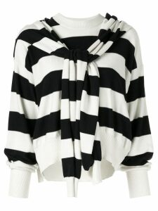 Sonia Rykiel striped jumper - White