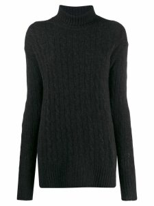 Polo Ralph Lauren cable knit jumper - Grey