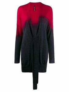 Pierantoniogaspari tie-dye cardigan - Red