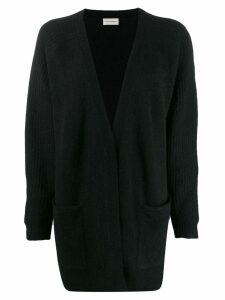 By Malene Birger longline knitted cardigan - Black