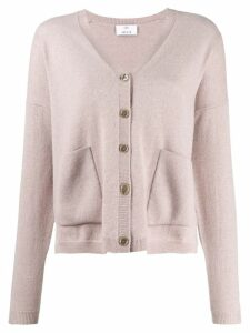 Allude relaxed-fit cashmere cardigan - Purple
