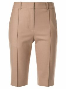 Rokh slim-fit tailored shorts - Brown