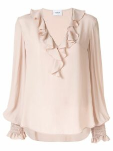 Dondup ruffled blouse - PINK