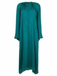 Voz long-sleeve flared dress - Green