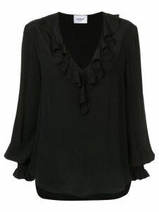 Dondup ruffled blouse - Black