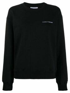 Chiara Ferragni Flirting sweatshirt - Black