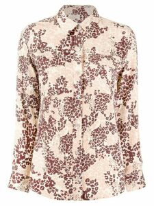 Equipment leopard print shirt - PINK