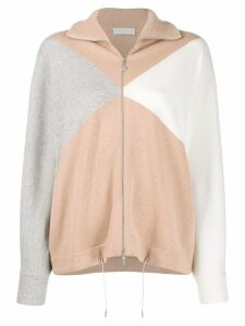 Fabiana Filippi colour block cardigan - PINK