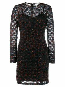 Lala Berlin Animal Noise Fire dress - Black