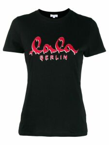 Lala Berlin logo T-shirt - Black