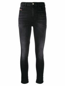 Diesel high waisted skinny jeans - Black