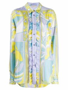 Emilio Pucci button-down printed shirt - Yellow