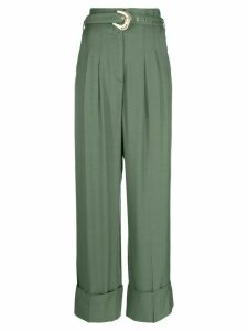 Just Cavalli high waisted trousers - Green