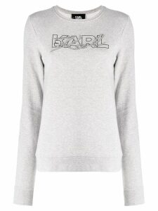 Karl Lagerfeld Double Logo sweatshirt - Grey