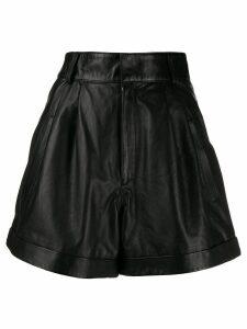 Manokhi flared shorts - Black