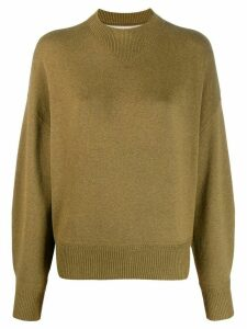 Isabel Marant Étoile Karl double knit sweater - Green