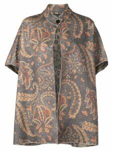 Etro paisley floral print cardigan - Multicolour