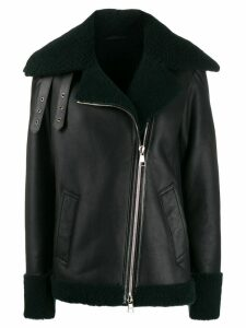 Karl Lagerfeld shearling jacket - Green
