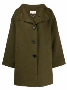 Vanessa Bruno oversized single-breasted coat - Green