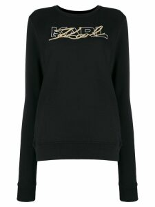 Karl Lagerfeld Double Logo sweatshirt - Black