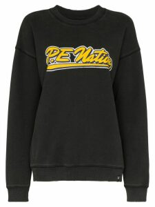P.E Nation Ringer logo print sweatshirt - Black