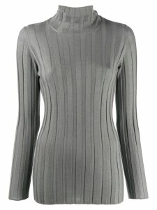 Fabiana Filippi cashmere roll-neck sweatshirt - Grey