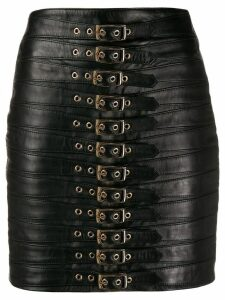 Manokhi buckled mini skirt - Black