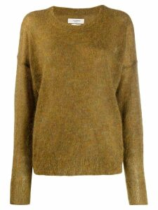 Isabel Marant Étoile Cliftony fluffy kniy jumper - Green