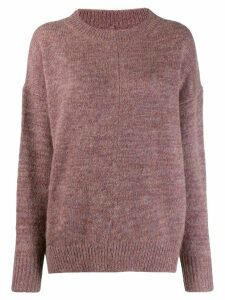 Isabel Marant Étoile Mander fluffy knit sweater - PINK