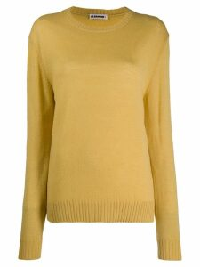 Jil Sander crew neck sweater - Yellow