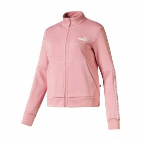 Amplified Zip-Up Fleece Track Top